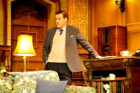 Nick Barclay (Giles Ralston) in the 60th Anniversary Tour of Agatha Christie's The Mousetrap. Credit Liza Maria Dawson