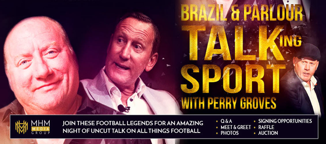 Brazil & Parlour Talking Sport with Perry Groves