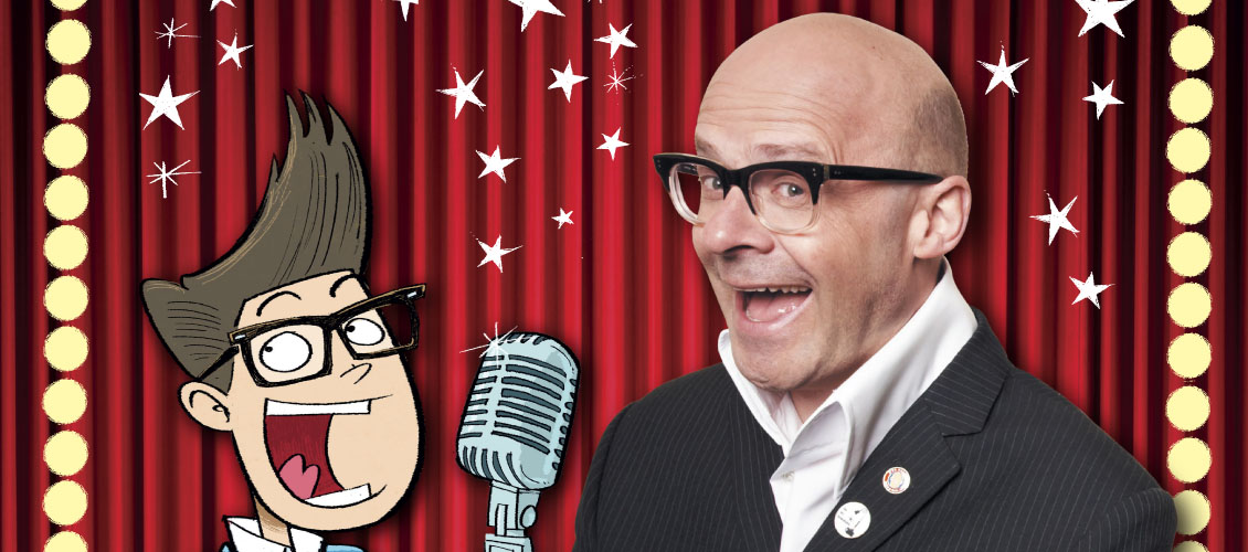 Harry Hill's How To Be A Stand Up (For Kids)