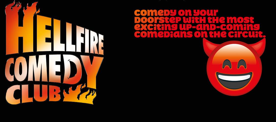Hellfire Comedy Club this June!
