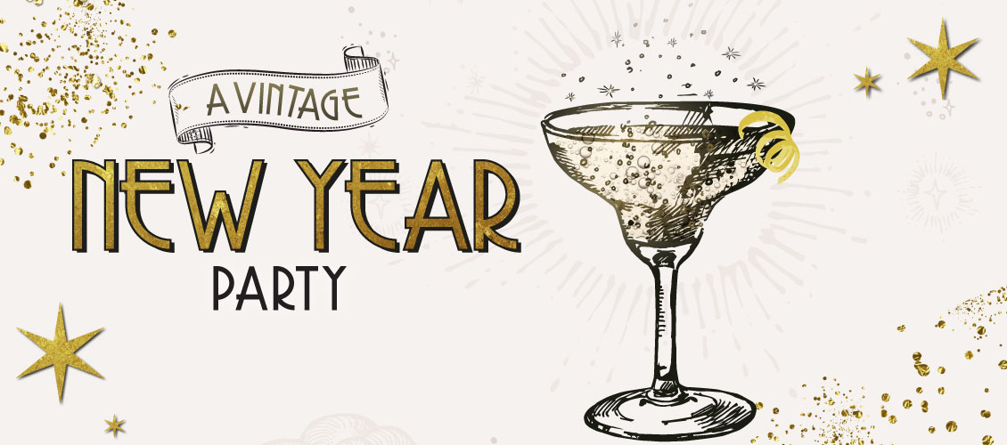 A Vintage New Year Party