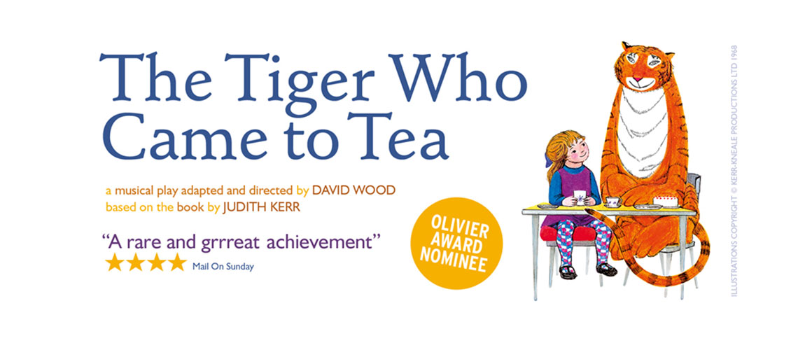 The Tiger Who Came For Tea