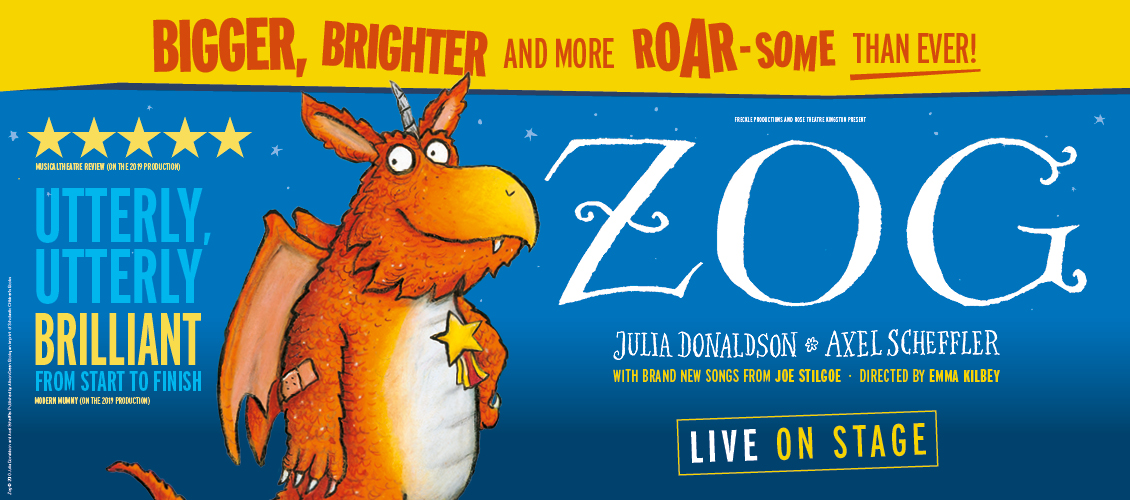 ZOG! Live on stage