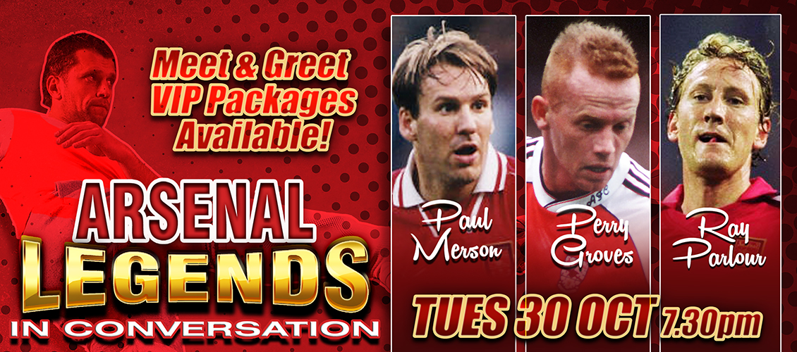 An Evening with Arsenal Legends
