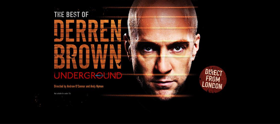 NEW ON SALE: Derren Brown - Underground
