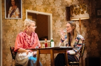 Sara Crowe (Phoebe) and Diana Vickers (Jean) in The Entertainer - Helen Murray Photography