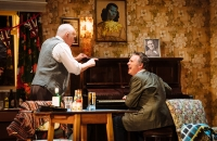 Shane Richie (Archie Rice) and Pip Donaghy (Billy)in The Entertainer - Helen Murray Photography