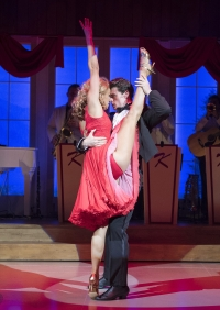Simone Covele (Penny) Michael OReilly (Johnny) Dirty Dancing - The Classic Story on Stage (Photo Credit: Alastair Muir)