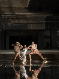 Salome Pressac, Aishwarya Raut, Mesach Henry (wearing COTTWEILER) (c) Nicolas Guttridge and Benoit Swan Pouffer