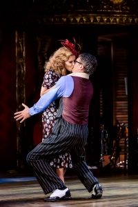 Caroline Flack (Irene) and Tom Chambers (Bobby)