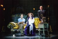 Danny Mac. Ria Jones as Norma Desmond and Adam Pearce as Max Von Meyerling