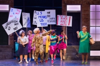 Previous cast of Hairspray. Photo by Darren Bell