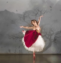 The Red Shoes. Ashley Shaw 'Victoria Page.' Photo bu Johan Persson.