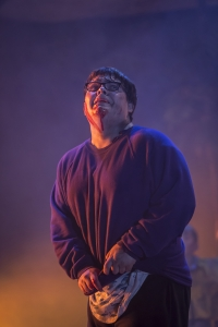 Anthony Roberts as Piggy. Photo Johan Persson