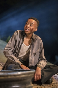 Keenan Munn-Francis as Simon. Photo Johan Persson