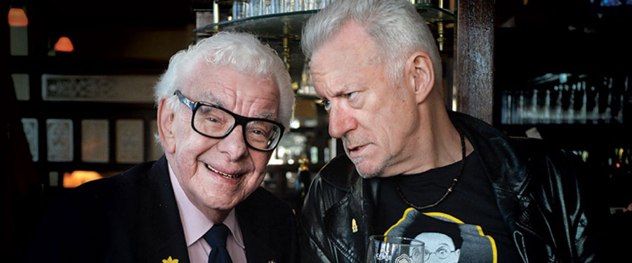 BT: Barry Cryer and Ronnie Golden