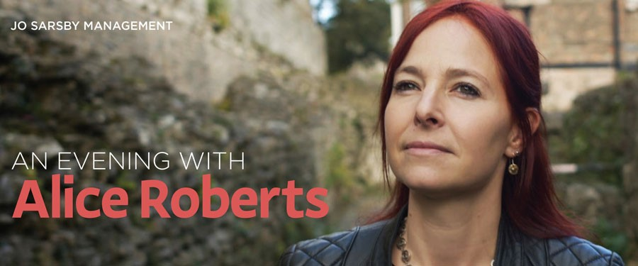 CB: An Evening with Alice Roberts