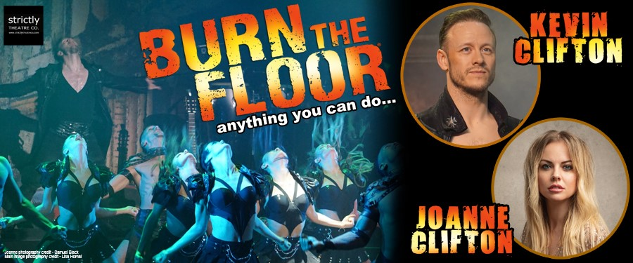 CB: Burn the Floor with Kevin and Joanne Clifton