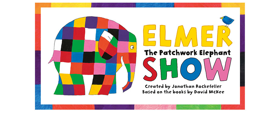 CB: Elmer The Patchwork Elephant