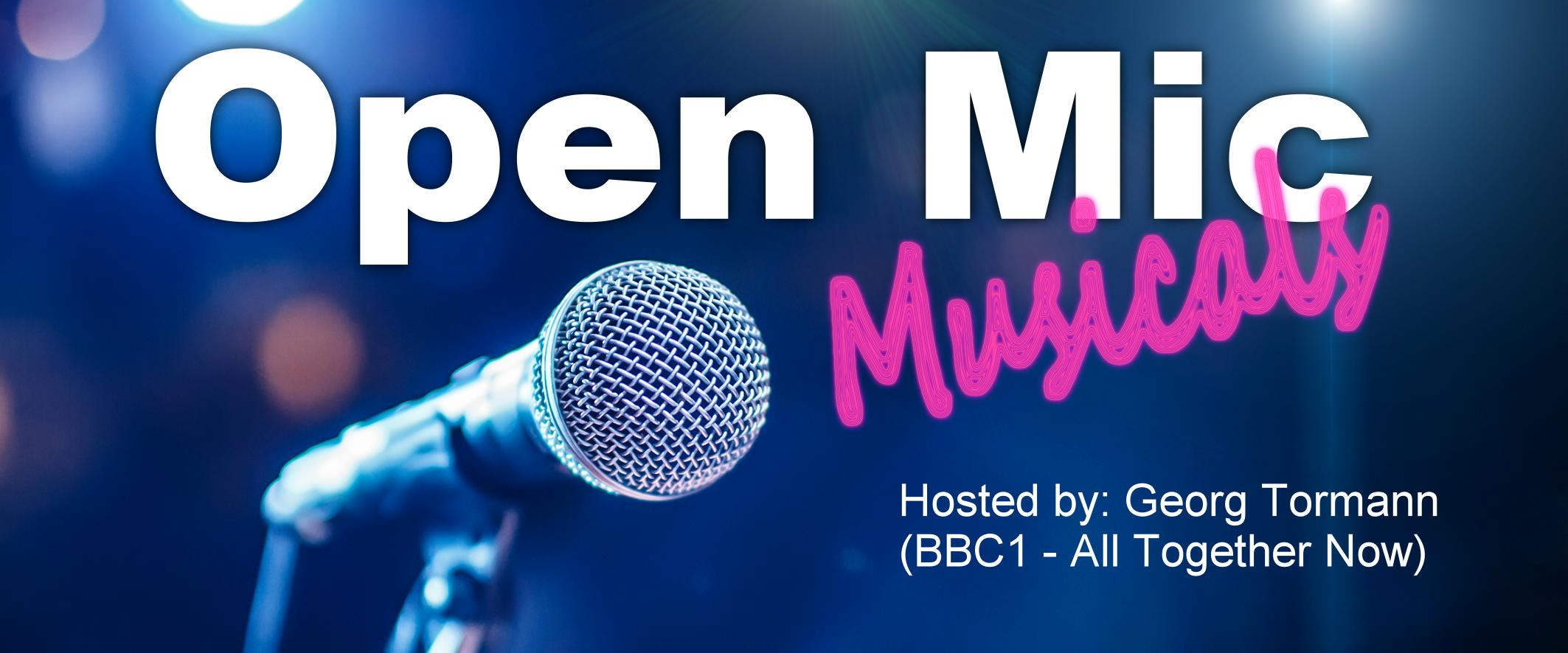 CB: Open Mic Musicals