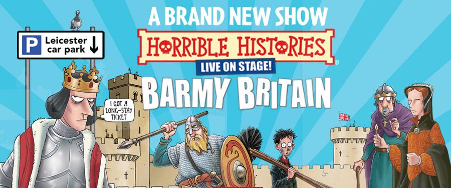 Horrible Histories - Brand New Barmy Britain