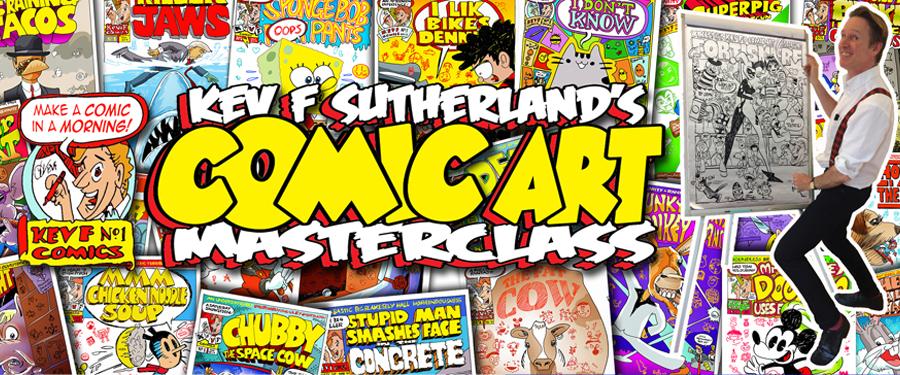 October Half Term: Creepy Comics