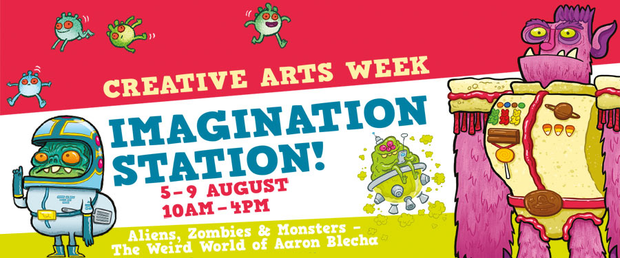 Creative Arts Week: Imagination Station