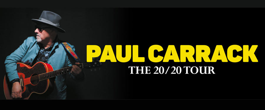 Paul Carrack The 20/20 Tour