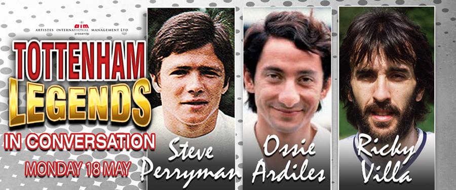 Tottenham Legends in Conversation
