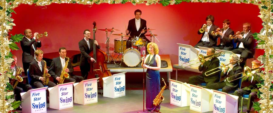 """ST: Five Star Swing - """"The Big Band at Christmas"""""""