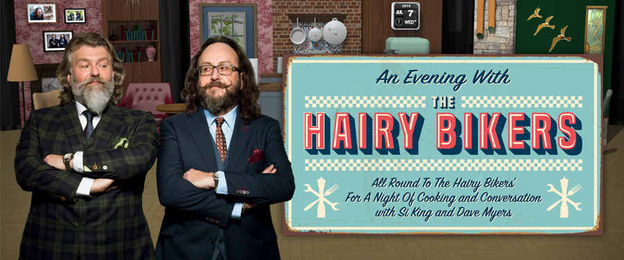 ST: An Evening With The Hairy Bikers