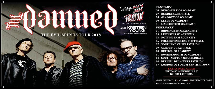 ST: The Damned - Evil Spirits Tour