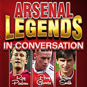 Mon 21 Oct - Arsenal Legends In Conversation