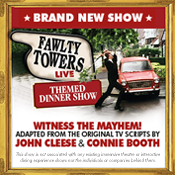 Thu 24 Oct - Fawlty Towers Live: Themed Dinner Show