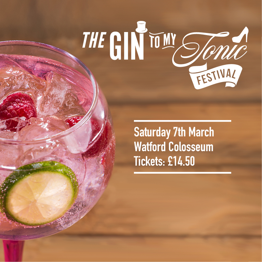 Sat 07 Mar - The Gin To My Tonic Festival