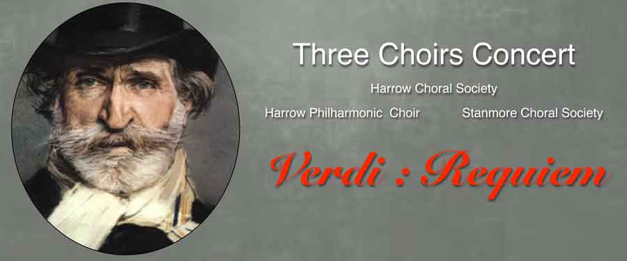 Three Choirs Concert - Verdi: Requiem