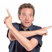 Fri 27 Sep - Henning Wehn: Get on with it