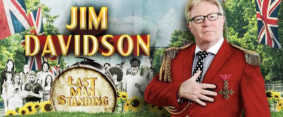 Jim Davidson Last Man Standing Tour 2020