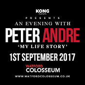 Fri 01 Sep - An Evening with Peter Andre