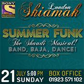 Sun 21 Jul - Shiamak Summer Funk