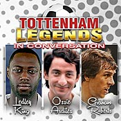 Mon 21 Jan - Tottenham Legends