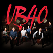 Wed 08 May - UB40 40TH ANNIVERSARY TOUR