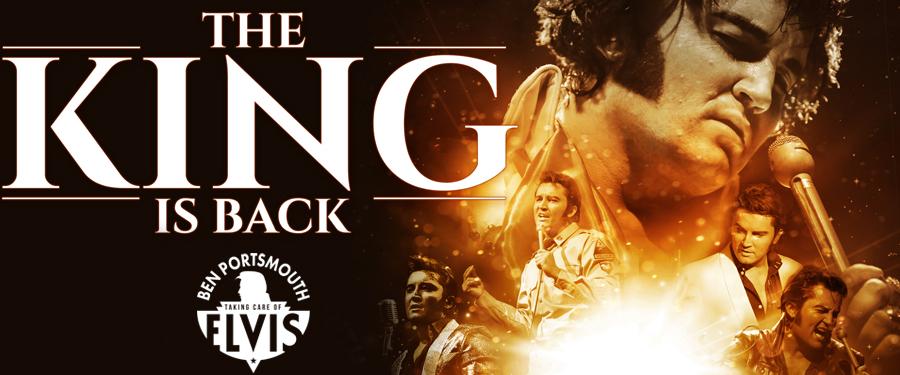 The King is Back – Ben Portsmouth is Elvis