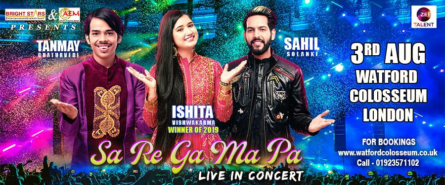 Zee Saregamapa Live Concert