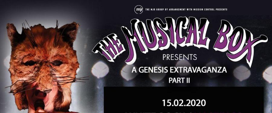 The Musical Box - A Genesis Extravaganza Part ll