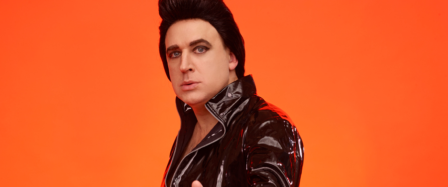 Tim Vine is Plastic Elvis