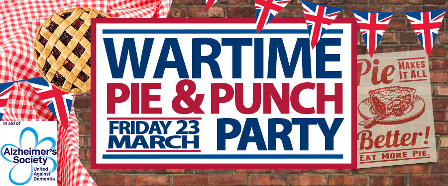Wartime Pie & Punch Party