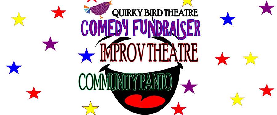 Quirky Bird's Comedy Fundraiser