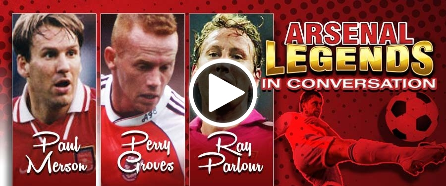 Play video for BT: Arsenal Legends In Conversation
