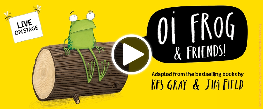 Play video for BT: Oi Frog & Friends